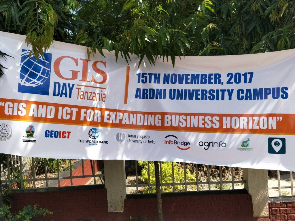 GIS day poster.