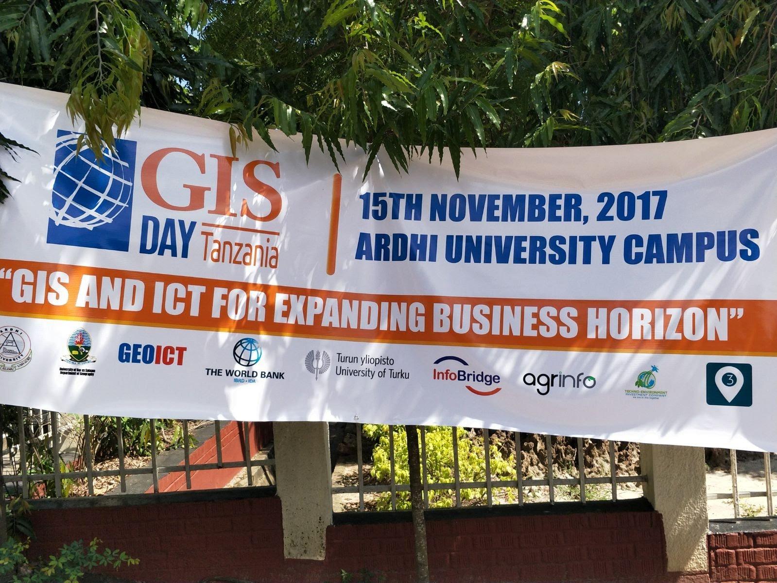 GIS day Tanzania