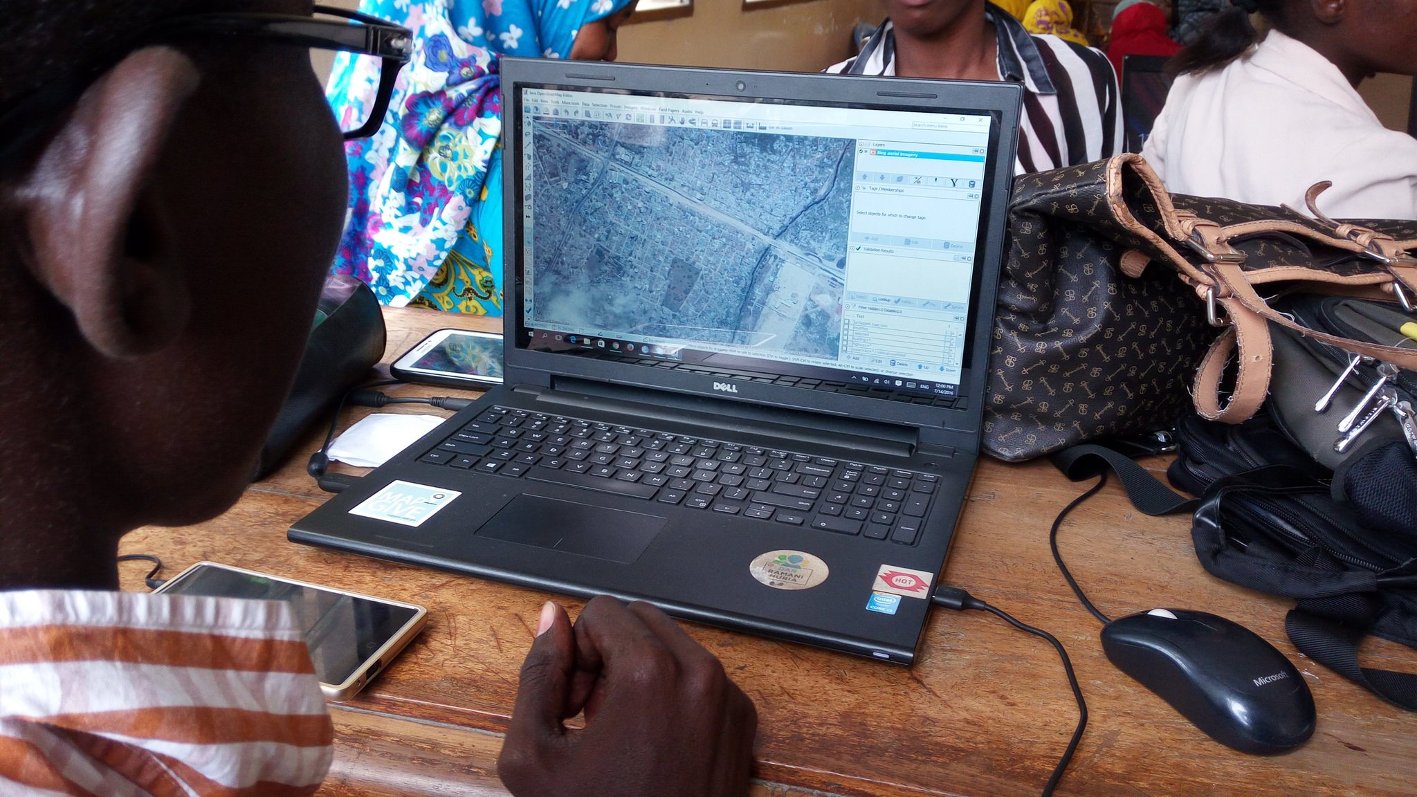 Tanzania's preparedness for climate challenges is supported by cooperation between the Geo-ICT partners
