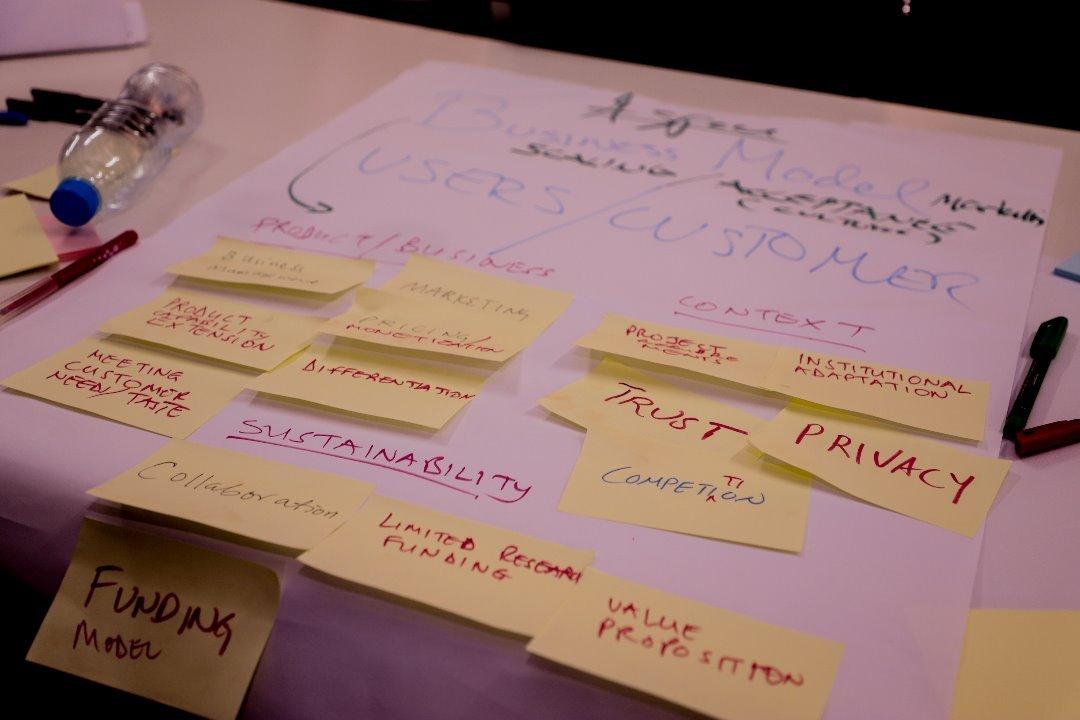 Geo-ICT Entrepreneurship and Innovation workshop week in Dar es Salaam