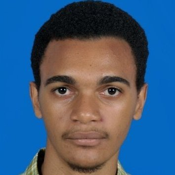 A Tanzanian man with dark eyebrows.